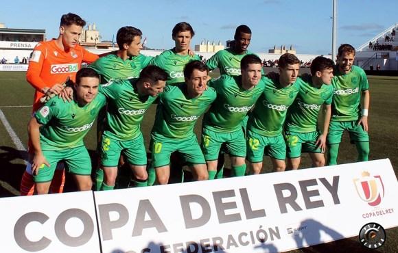 Formación de la Real Sociedad, el domingo en el estadio Alfonso Murube