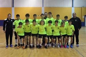 La selección infantil masculina de Ceuta / Foto: FFCE