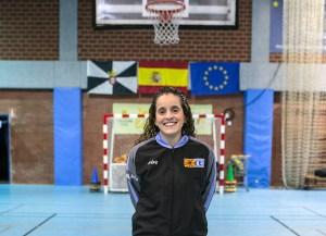 Sucaina Hamed, representante del arbitraje ceutí en el Campeonato de España