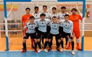 Formación del Deportivo Ceutí, este sábado en Motril