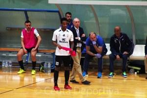 Everton y Santi Valladares coincidieron en el Santiago Futsal, al que visitan este sábado