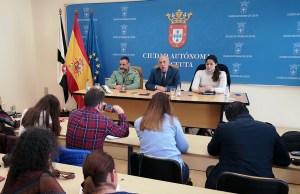Un momento de la rueda de prensa de este mediodía / Foto: Salva Camacho
