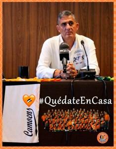 Jesús Ortiz, presidente del Camoens