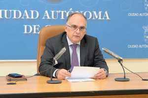 Alberto Gaitán, portavoz del Gobierno