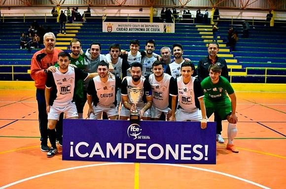 El filial de la UA Ceutí, que ya fue campeón de Copa, luchará por el ascenso a Segunda B como campeón de Liga