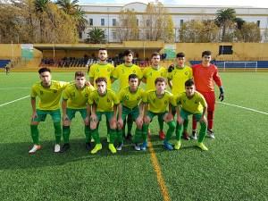 Formación de la Gimnástica de Ceuta en la temporada 19-20