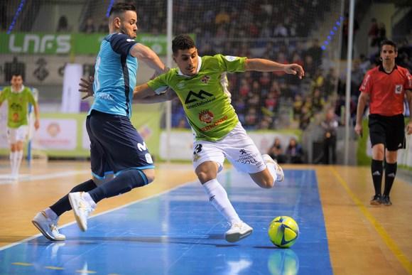 Hamza, en un partido de esta temporada ante el Movistar