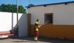 Este fin de semana seguirán los trabajos de desbroce y desinfección de otras instalaciones