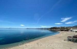 Las playas de Ceuta solo podrán usarse para pasear y hacer deporte