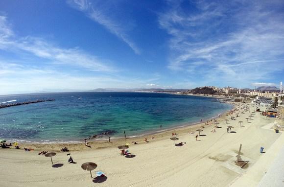 Imagen de la playa de La Ribera