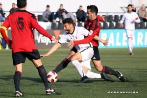Sufian, con la camiseta de la AD Ceuta FC
