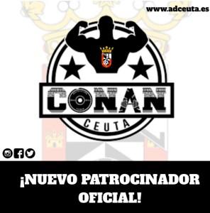 Así ha anunciado el Ceuta el nuevo patrocinio del Gimnasio Conan