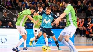 Movistar Inter ha demostrado su experiencia ante el Palma Futsal y se ha metido en la final / Foto: LNFS