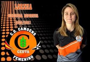 Lorena Gaona, nueva directora deportiva del Camoens