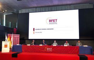 Una imagen de la asamblea celebrada en el COE
