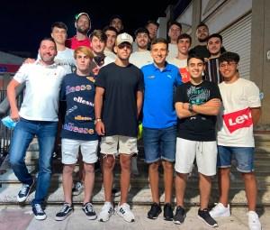 Cuerpo técnico y jugadores del Deportivo Ceutí se fueron de cena para cerrar su gran temporada