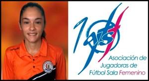 Yasmina Mohamed ha representado al Camoens en la reunión de capitanas de la Asociación de Jugadoras de Fútbol Sala