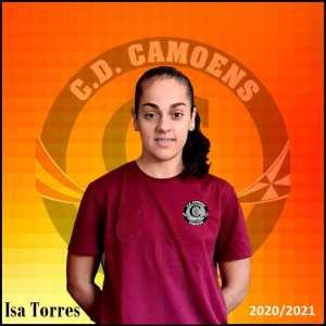Isa Torres, la nueva jugadora del Camoens