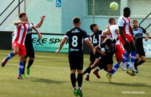 Un lance del partido disputado el pasado viernes en el Murube