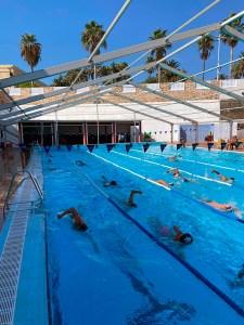 La piscina del CN Caballa permanecerá descubierta durante el invierno