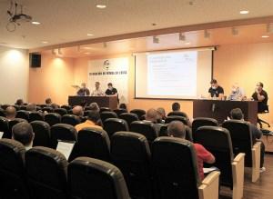 Imagen de la junta directiva de la FFCE celebrada este miércoles / Foto: FFCE
