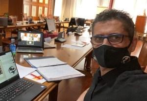 García Gaona, este lunes en la Conferencia de Presidentes de la RFEF