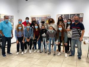 Los integrantes del CD Hércules han pasado los test en la sede de la Federación de Fútbol de Ceuta