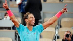 Rafa Nadal, tras ganar su decimotercer Rolad Garros