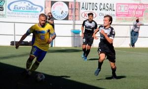 Una imagen del Conil - AD Ceuta FC de la primera jornada en el 'Pérez Ureba'