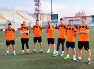 Los jugadores del Ceuta han estado diez días confinados