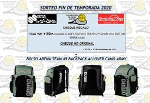 Estos son los regalos que la Federación de Tenis de Ceuta entregará a los ganadores del sorteo