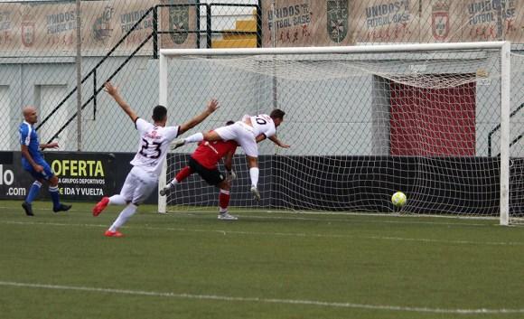 Cristo le hizo un 'hat-trick' al Xerez CD en el 5-0 de la pasada temporada en el Murube