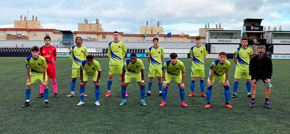 Once inicial del CD Polillas, este sábado en el estadio Alfonso murube