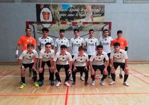 Formación del Deportivo Ceutí este sábado en Málaga