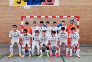 Formación del Deportivo UA Ceutí, este sábado en Córdoba
