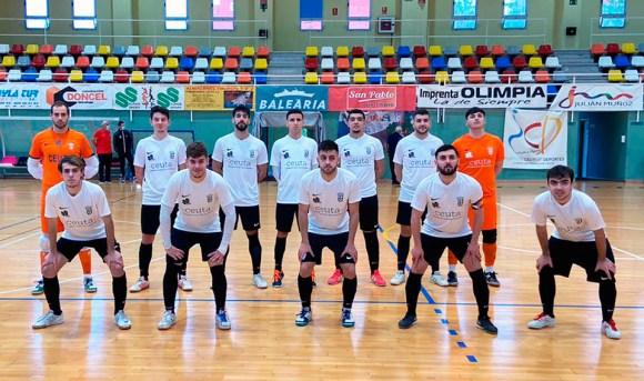 Formación de la UA Ceutí B, este sábado en el 'Guillermo Molina'