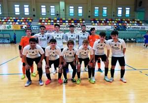 Formación del Deportivo Ceutí, este sábado en el pabellón 'Guillermo Molina'