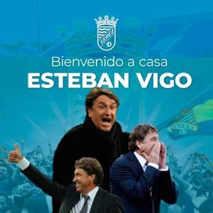 Así ha dado la bienvenida el Xerez CD a Esteban Vigo