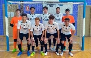 Formación del Deportivo Ceutí, este sábado en Gójar