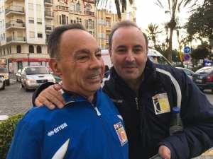 Jorbys, junto a su compañero del ICD Juan Carlos Trujillo