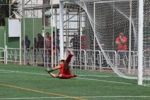 El meta Mokhlis, que ha parado un penalti, ha tenido una destacada actuación / A. Sánchez