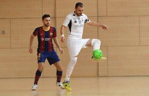 El Ceutí B ganó en la pista del Barça B por 4-5 en la primera vuelta