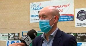 Santi Valladares, entrenador de la UA Ceutí