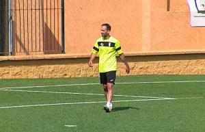 Aimar Gulin, este domingo en el José Martínez 'Pirri'