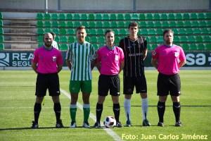 Sánchez Carreras arbitró hace dos temporadas la victoria del Ceuta en el campo del Betis Deportivo