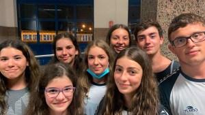 Los 8 nadadores de Ceuta que han competido en Cádiz