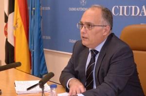 Alberto Gaitán, portavoz del Gobierno de Ceuta