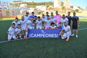 El filial de la AD ceduta FC ha subido a Tercera RFEF / Foto; FFCE