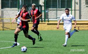 Chakir, durante el Ceuta - Cabecense de esta temporada