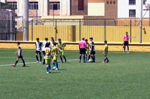 Una imagen de un duelo precedente entre Deportivo Ceutí y Polillas Ceuta / Foto: FFCE